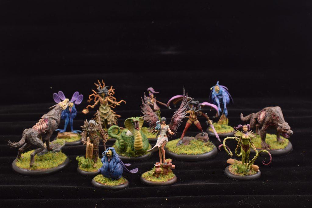 Titania und zusätzliche Modelle